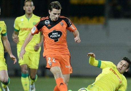 Résumé de match, Lorient-Nantes (1-2)