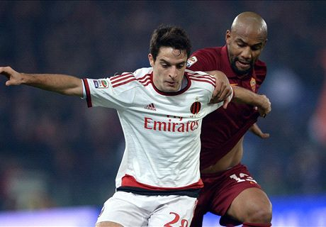 Ten-man Milan hold on for Roma draw