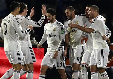 Real Madrid 2-0 San Lorenzo - LIVE stream