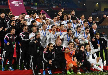 Real Madrid alcanzó a Boca y Milan