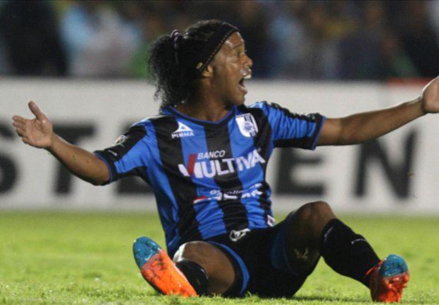 Ronaldinho no volvería a Querétaro.