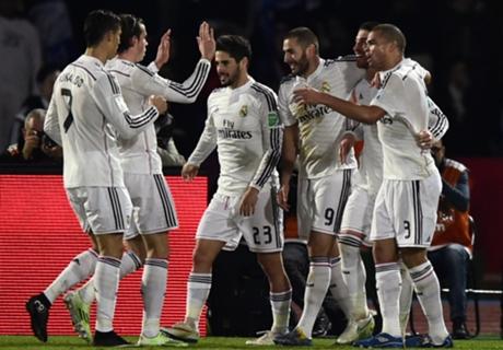 Títulos: Real Madrid 79-78 Barcelona