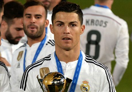 Ronaldo snubs Platini at CWC presentation
