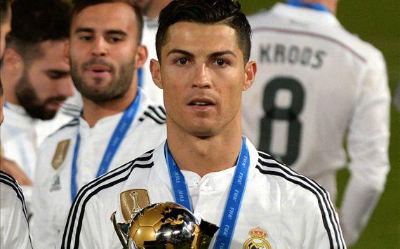 Ronaldo snubs Platini at CWC presentation