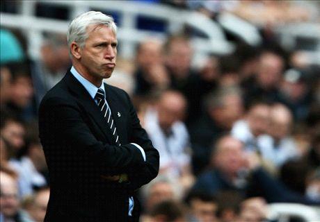 Pardew dejected after derby defeat