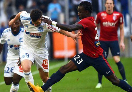 Marseille 2-1 Lille: Marseille stays top
