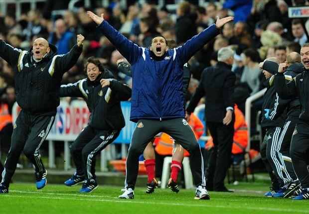 Newcastle United 0-1 Sunderland: Johnson decides derby with last-minute winner