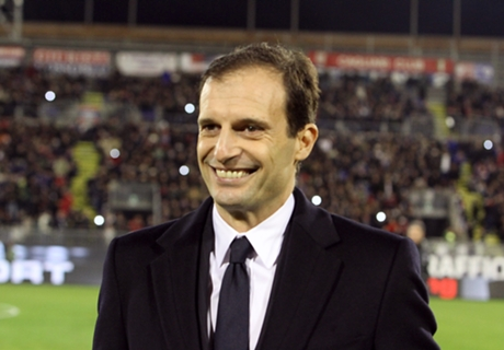 Juventus can't put a foot wrong - Allegri