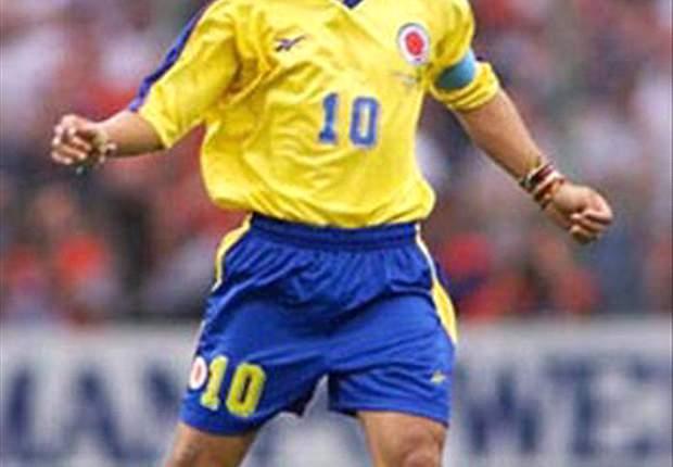 Colombia legend Carlos Valderrama tips Porto's James Rodriguez to be his successor