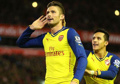 Player Ratings: Liverpool 2-2 Arsenal