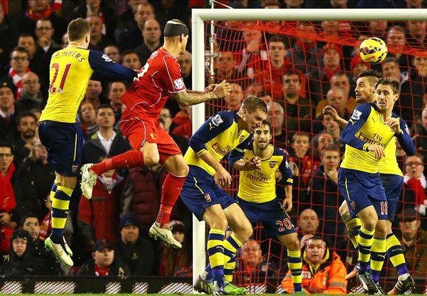 Liverpool 2-2 Arsenal: Skrtel rescues a point for 10-man Reds