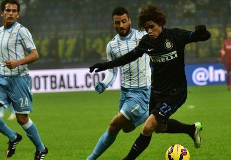 LIVE: Inter 2-2 Lazio