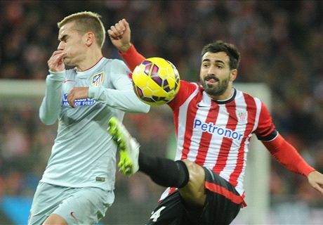 LIVE: Athletic Bilbao 1-0 Atletico Madrid