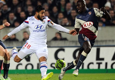 Lyon leapfrog PSG after Bordeaux win
