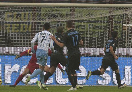 Rodrigo redt punt voor Internazionale
