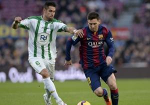 LIONEL MESSI | El argentino, en un partido sin mucho brillo, anotó dos goles en la victoria ante el Córdoba