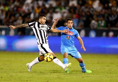 LIVE penalties: Juventus 2-2 Napoli