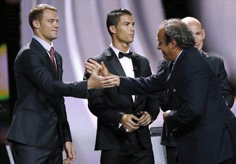 'There's no Ronaldo-Platini animosity'