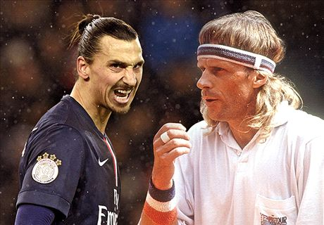 Zlatan anger at second place in poll