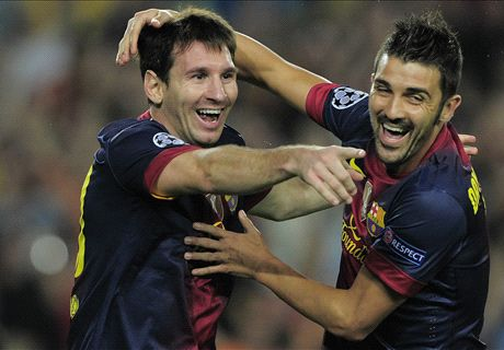 Villa: Messi is the best of all time