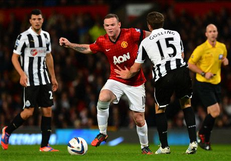Rooney Leads Man United's Old Guard