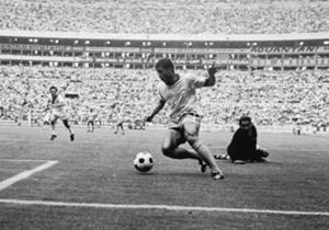Mas foi no México, em 1970, que Jairzinho viveu sua melhor fase e se tornou o principal artilheiro do torneio