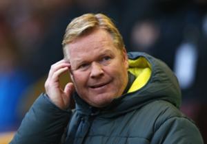Ronald Koeman hoopt dat Feyenoord het succesverhaal vervolgt