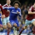 Willian Premier League Chelsea v West Ham 261214