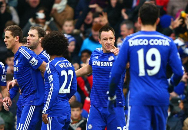 Chelsea 2-0 West Ham: Terry & Costa on target for classy Blues