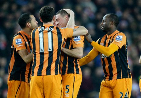 Player Ratings: Sunderland 1-3 Hull City