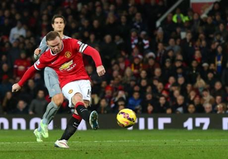 Rooney trae victoria por Navidad (3-1)