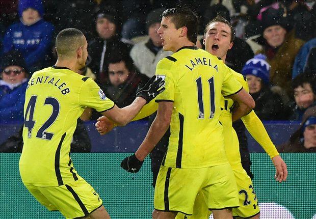 Tottenham encontró la victoria gracias a un tiro libre.