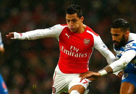 LIVE: Arsenal 1-0 QPR