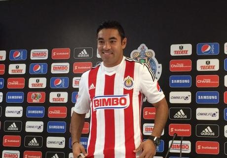 Chivas presentó a Marco Fabián