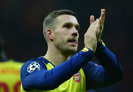 Podolski keen to resolve Arsenal future