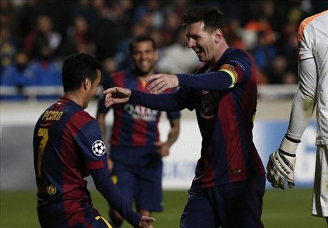 Messi better than everyone - Pedro