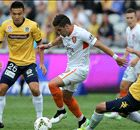 Central Coast 3-3 Brisbane Roar: Honours even after Gosford thriller