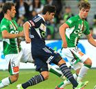 Melbourne Victory 1-0 Newcastle Jets: Finkler free-kick wins it