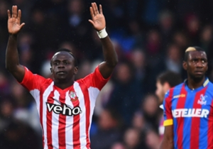 SADIO MANE | Crystal Palace 1-3 Southampton | Scored the first goal of the game for Southampton before providing an assist for Ryan Bertrand in an energetic display.