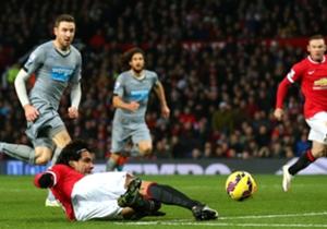 El momento de la perfecta asistencia a Rooney