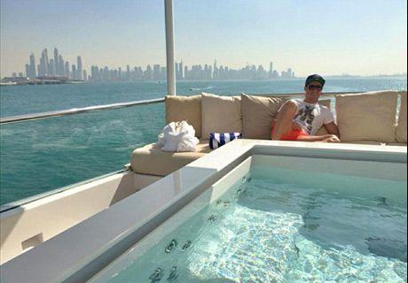 CR7: relax en Dubai