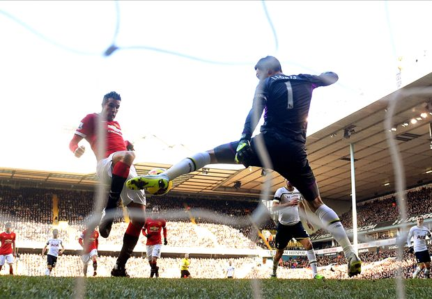 Tottenham 0-0 Manchester United: Falta de acierto en White Hart Lane