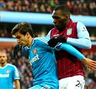 Ten-man Aston Villa hold firm