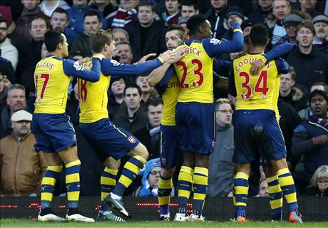 FT: West Ham United 1-2 Arsenal