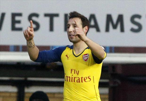West Ham 1-2 Arsenal: Un buen primer tiempo basta a los de Arsene Wenger