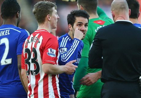 Fabregas hits out at referee