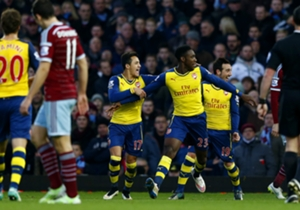 West Ham United 1-2 Arsenal