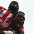 Mame Diouf menangkan Stoke City.