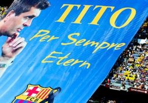 25 aprile - Il calcio piange la scomparsa di Tito Vilanova: all'allenatore del Barcellona è fatale il tumore alla ghiandola parotide