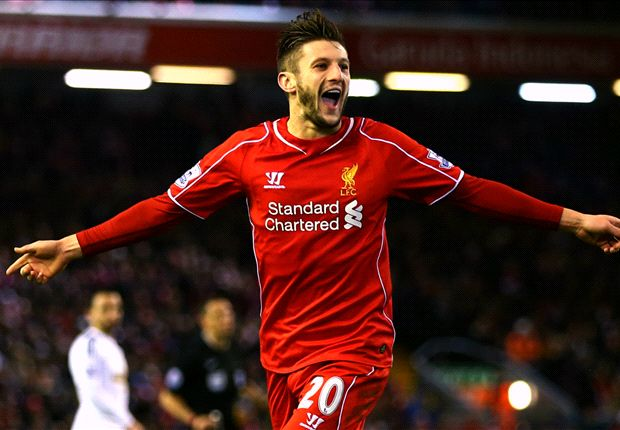 Liverpool 4-1 Swansea City: Lallana scores twice as Reds climb to eighth